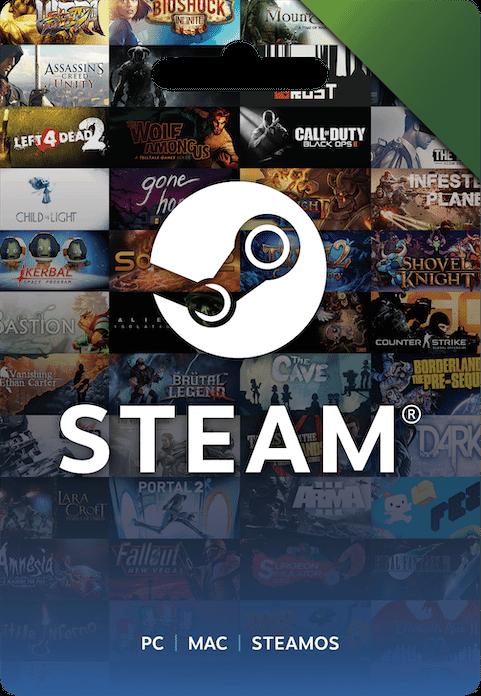 Steam Prepaid Card