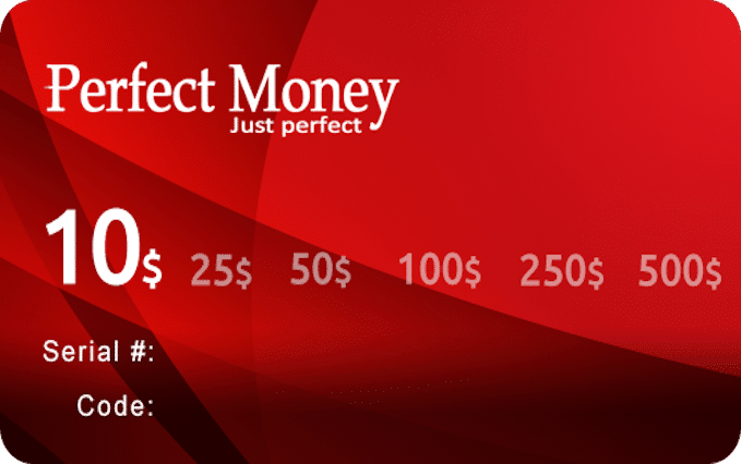 Perfect Money Voucher India